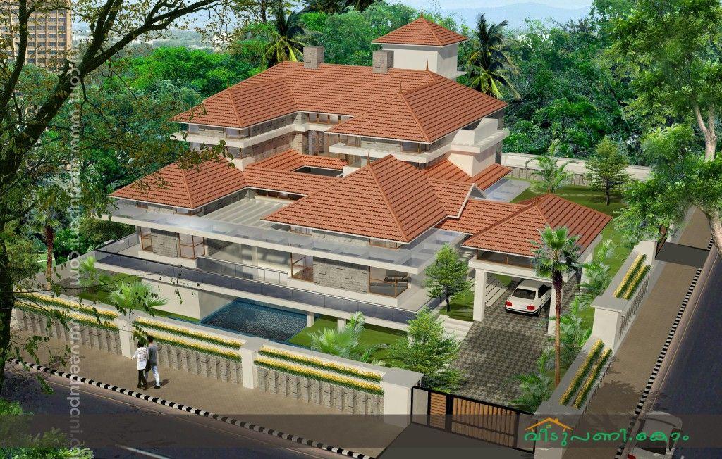 Nalukettu style house House style