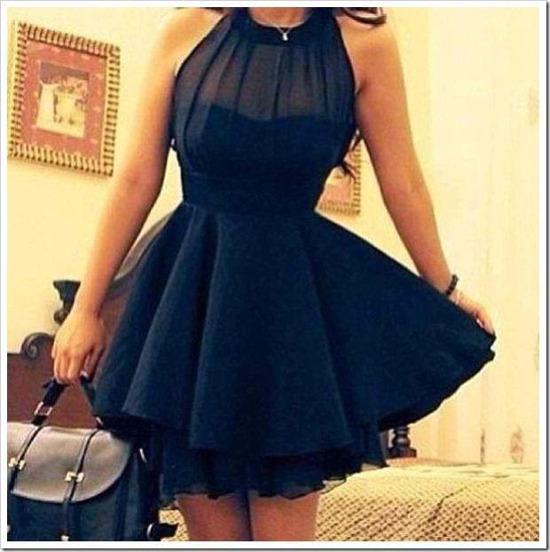 Fashion Investigation Agency #fashion #dress #lbd #black #style #skater #fancy #classy #chiffon #ootd #ootn #outfit #girl #sweet #girly #cute