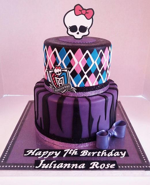 Enjoyable Monster High Birthday Cake With Images Monster High Cakes Funny Birthday Cards Online Inifofree Goldxyz