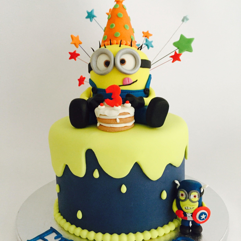 Bien connu Torta Minion Minion cake | My cakes | Pinterest | Minions minions  OE14