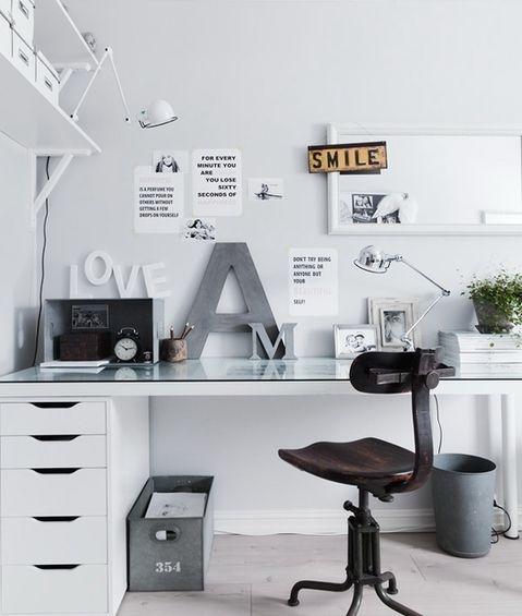 Work Space, Studio Idea, Ikea Inspired, Home Office.