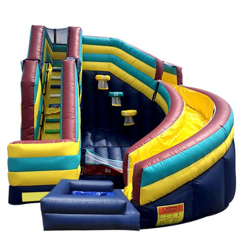 5 In 1 Twister Slide With Pool