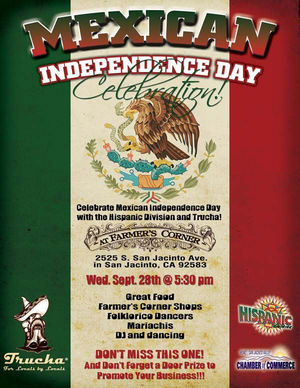Mexican Independence Day Flyer  Graphic Design Portfolio