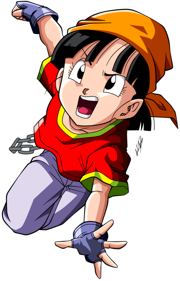 Dragon ball gt pan sorry, that