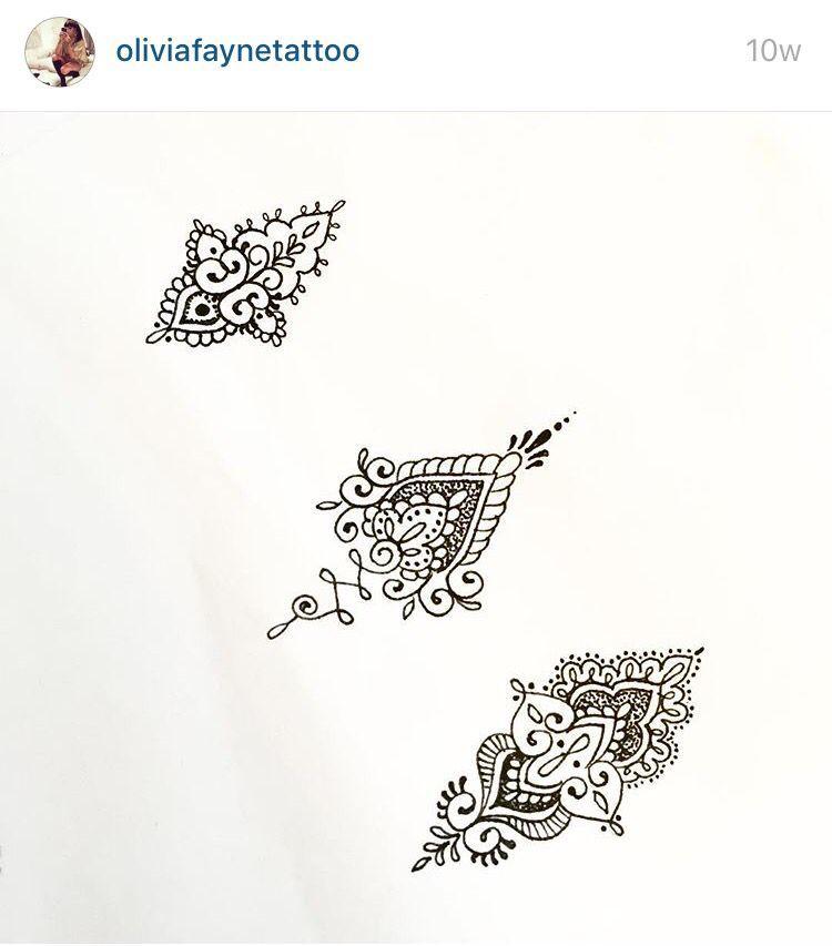 c95f0b9a8321c Mandala Sternum Tattoo, Small Mandala Tattoo, Unalome Tattoo, Henna Finger  Tattoo, Mehndi