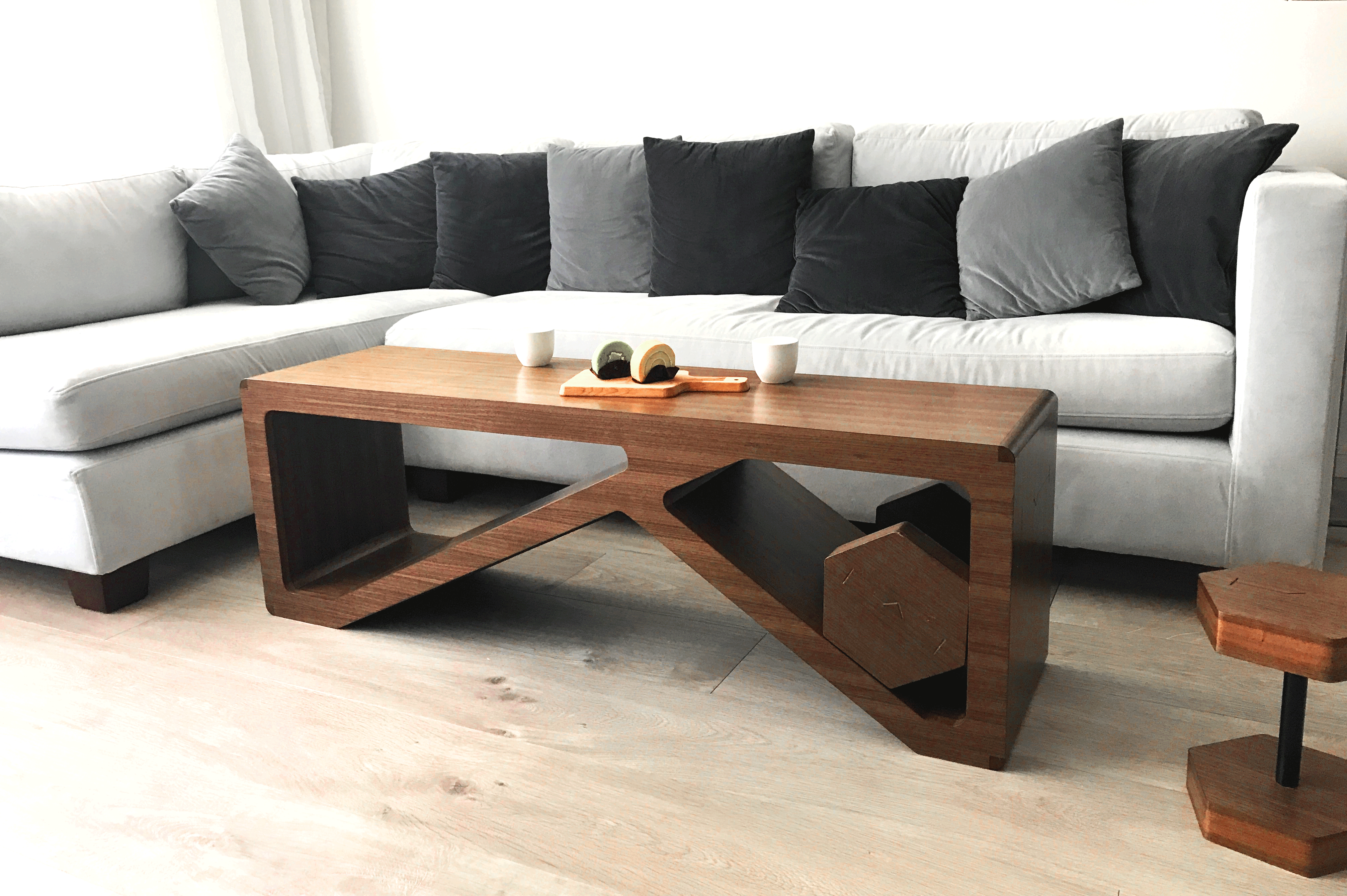 Multifunctional Exercise Bench And Dumbbell Or Coffee Table And Side Table Check Out Our Recent Photos To Know More T Furniture Home Made Gym Coffee Table