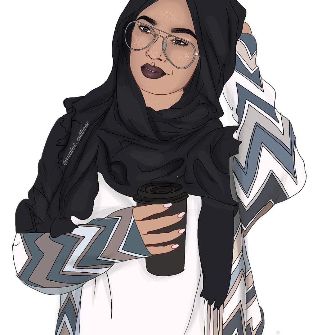 رسم كرتون بنات محجبات Google 搜索 Hijab Cartoon Cute Girl Drawing Little Girl Cartoon
