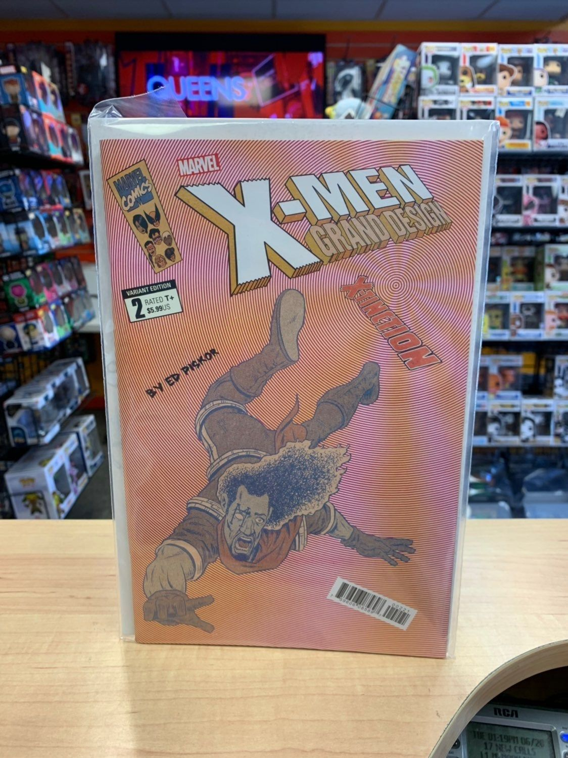For Sale Is An Ungraded Unread Bagged And Boarded Copy Of X Men Grand Design X Tinction 2 Of 2 Cover B P Grand Designs Man Thing Marvel Marvel Comic Books