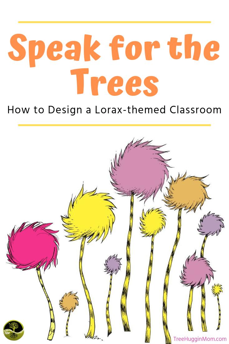 Get Creative With The Lorax The Truffula Tree Shirt The Lorax Tree Stencil Truffula Trees
