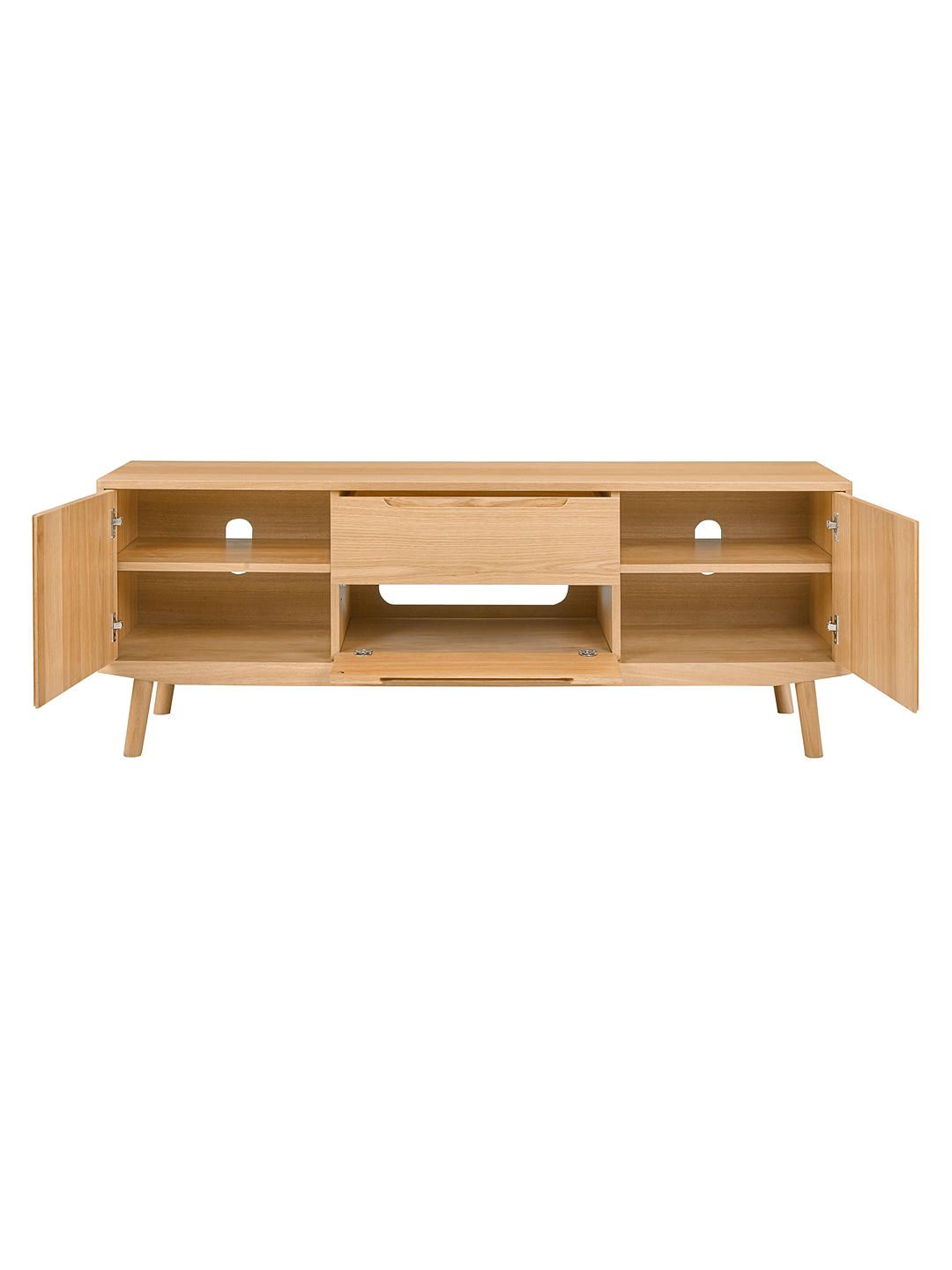 e951a2f0b200 BuyHouse by John Lewis Bow TV Stand Sideboard for TVs up to 65