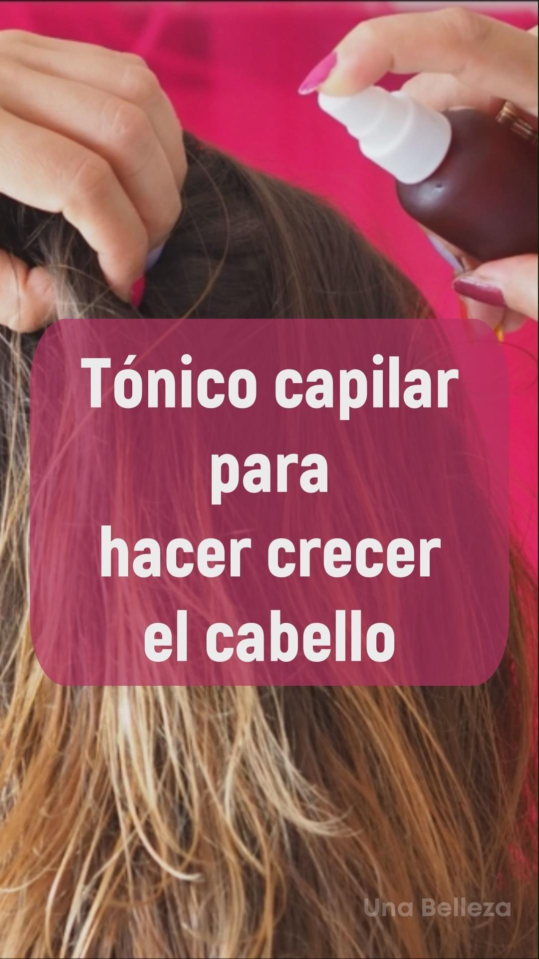 Photo of Tónico capilar para curar el picor, detener la caida y acelerar el crecimiento del cabello