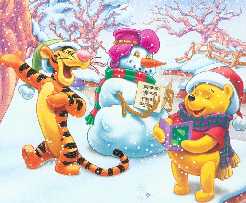 Disegni Di Natale Winnie Pooh.Pin De Pamela En Art Disney Immagini Disney Y Winnie The Pooh