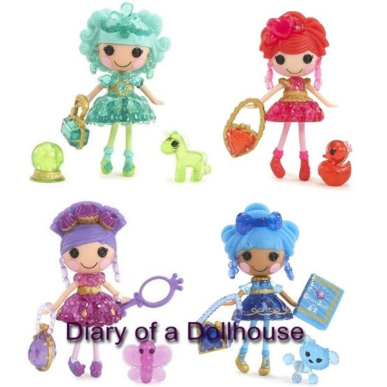 Lalaloopsy Mini Dolls Series 14   Jewels And Gems Collection With Bijou  Treasure Trove, Dazzle