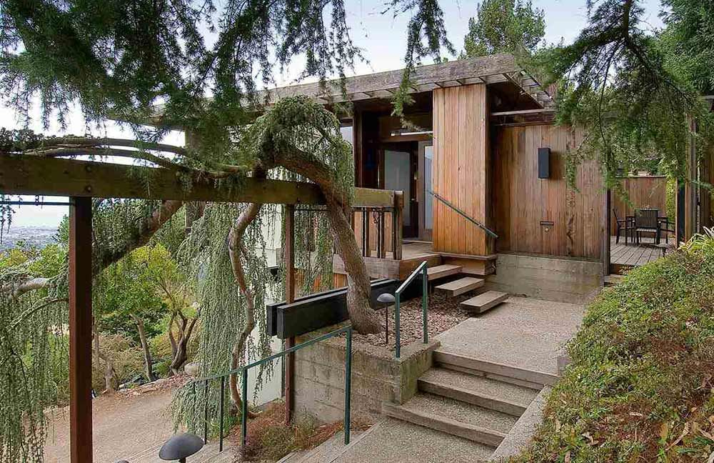 1960 Berkeley time capsule house – built by architect David K. Burton for his family