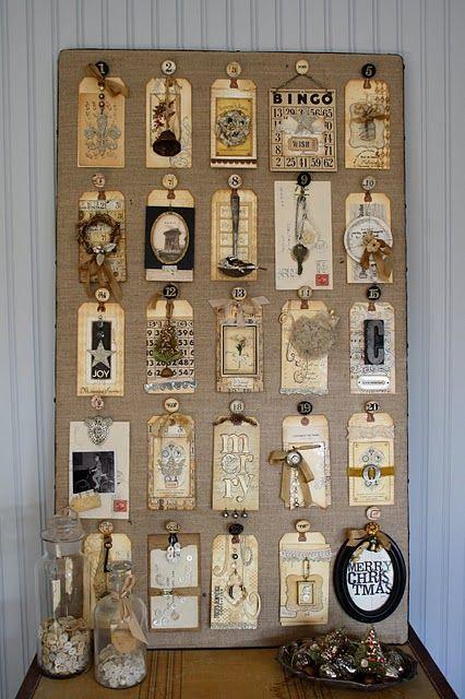"""""""junk drawer"""" advent calendar"""