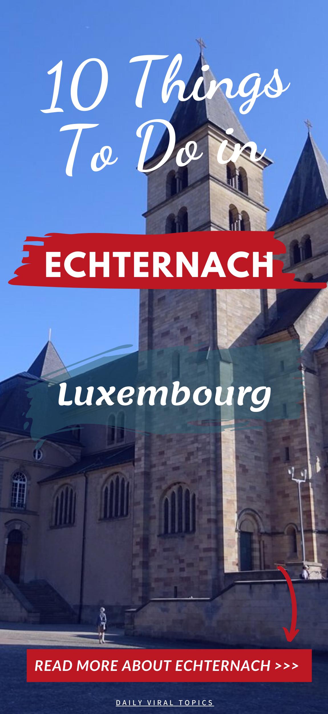 Please save it #dailyviraltopics #travel #travelphotography #nature #travelblog #places_to_visit #trip #Destinations #Echternach #Luxembourg