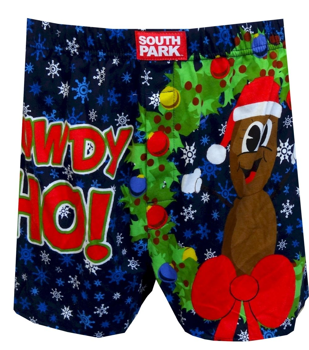 South Park Mr. Hankey The Christmas Poo Howdy Ho Boxers | Holiday ...