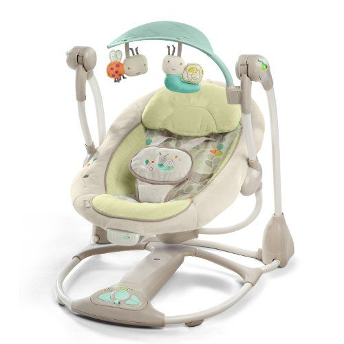 0cf57f404 Ingenuity 60198 - Columpio portátil convertible a asiento vibrador Hamacas  Bebes, Accesorios Para Bebes,