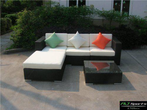 Exklusive Gartenmobel Rattan ~ Aj sports & wellness exklusive 12teilige s rattan lounge