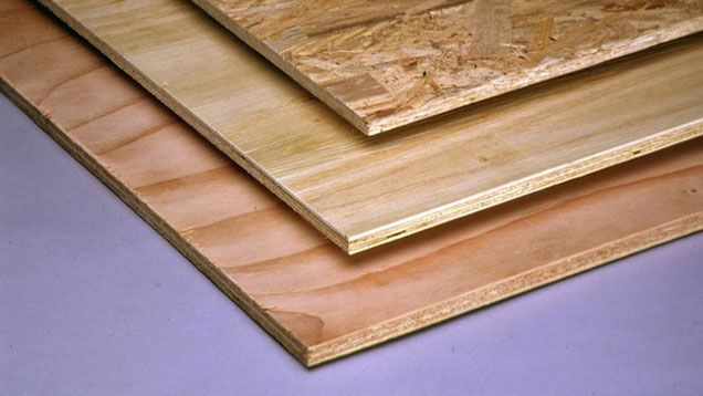 Diy Materials Showdown Plywood Vs Oriented Strand Board Osb Remove Oil Stains Osb Plywood Flooring