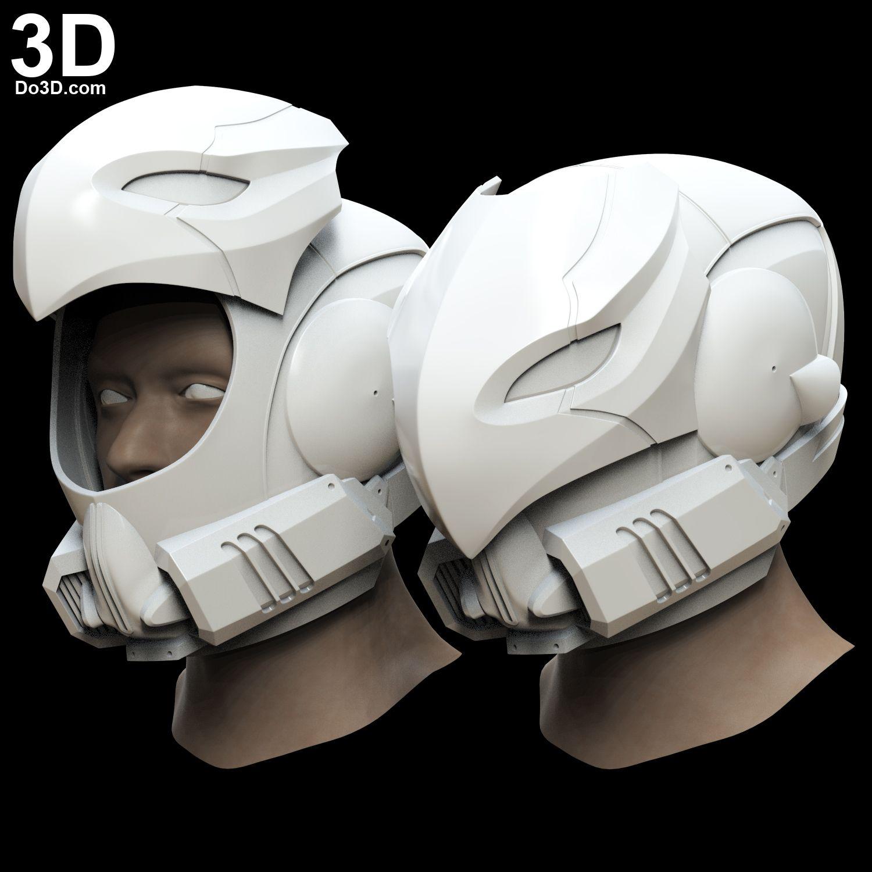 3D Printable Model: Celestial NightHawk Destiny Helmet