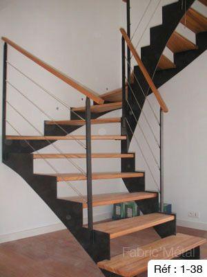 Fabrication Escalier Metal Bois Escalier Moderne En Bretagne