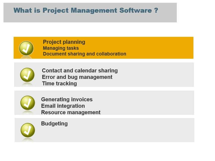 Buyer Guide For Selecting The Best Project Management Software Business Intelligence Dashboard Project Management Dashboard Software