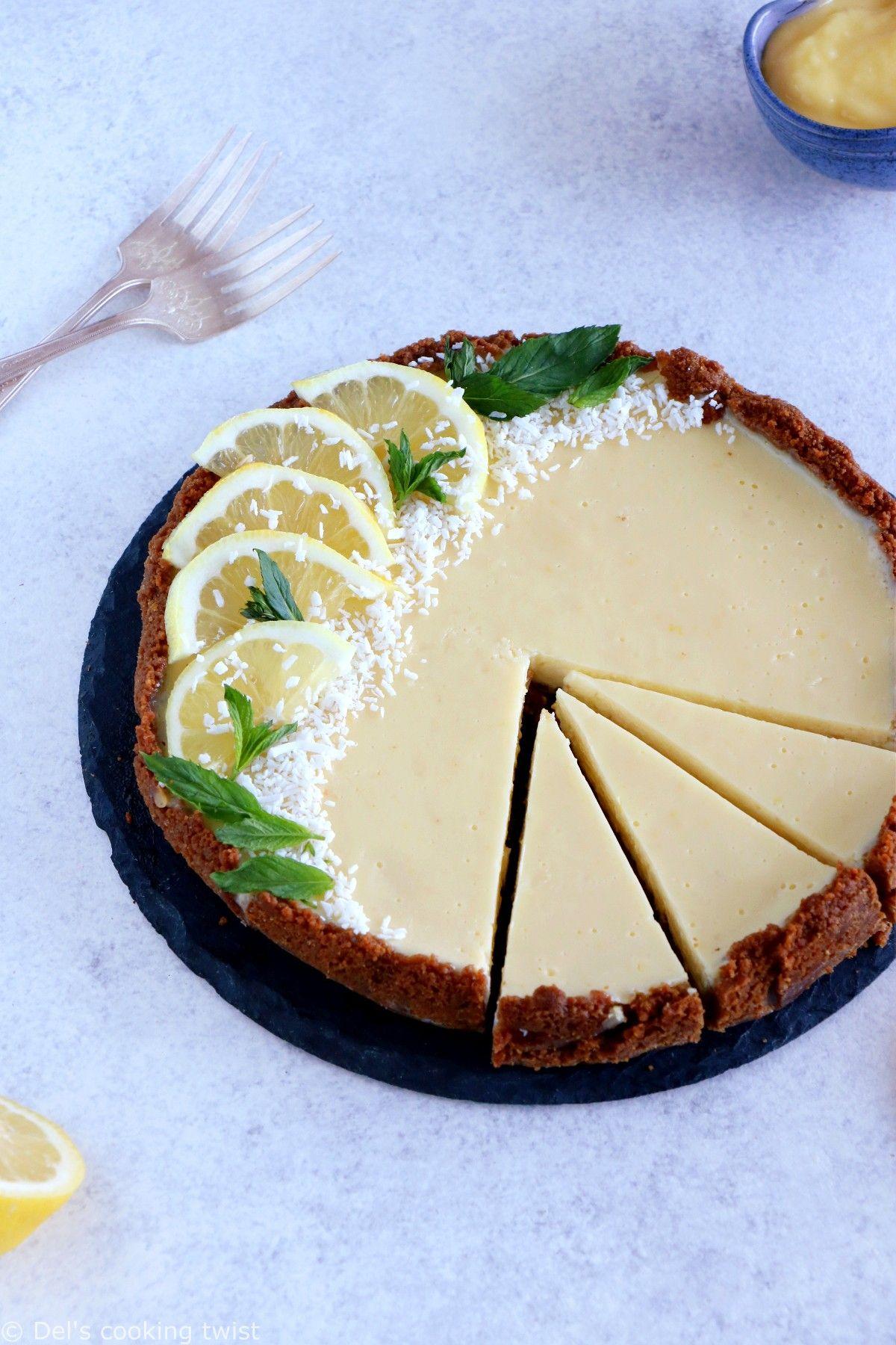 The Fabulous Speculoos Lemon Tart Del S Cooking Twist Recipe Easy Lemon Tart Recipe Lemon Tart Recipe Lemon Tart