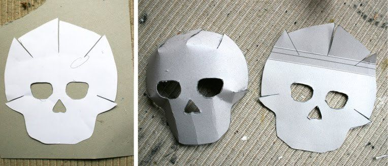 day of the dead crafts masks in 2018 halloween mask template