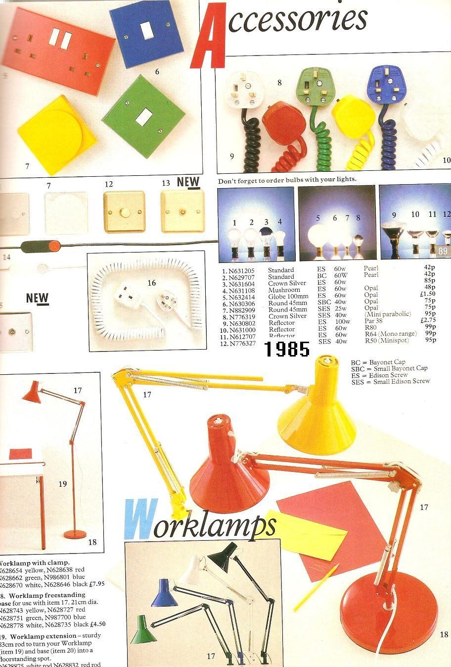 80s Desk Lamps ('80s Actual.com)
