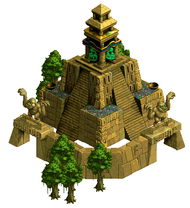 how to make an aztec temple