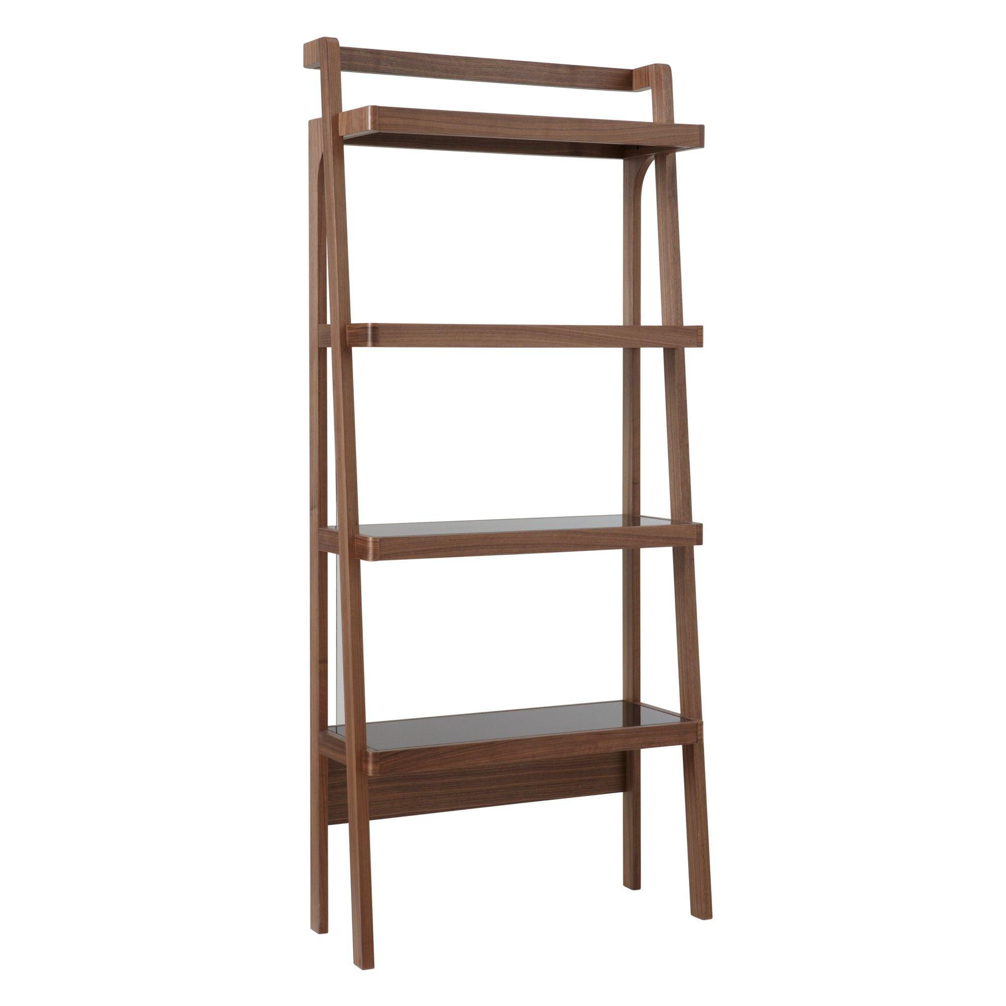 John Lewis Gazelle Bookcase Walnut Home Ideas Bookcase
