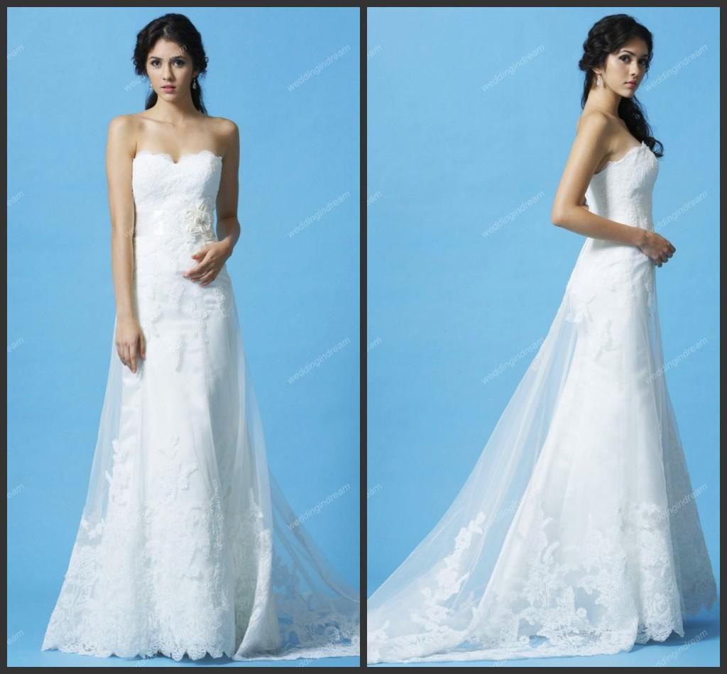 Wholesale Sheath Wedding Dresses - Buy Western Country Style Sheath ...