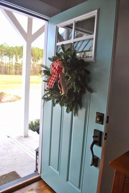 Wondrous Christmas 2013 Farmhouse Tour Front Door Paint Colors Door Handles Collection Dhjemzonderlifede