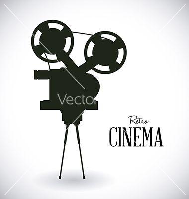Cinema design vector 3249150 - by djvstock on VectorStock�