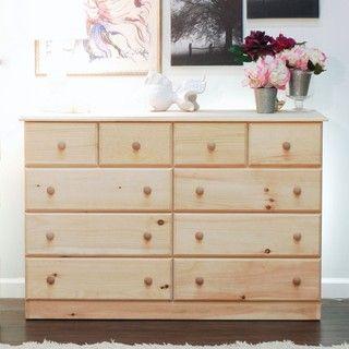 Unfinished furniture maspeth dresser apartment living - Unfinished solid wood bedroom furniture ...