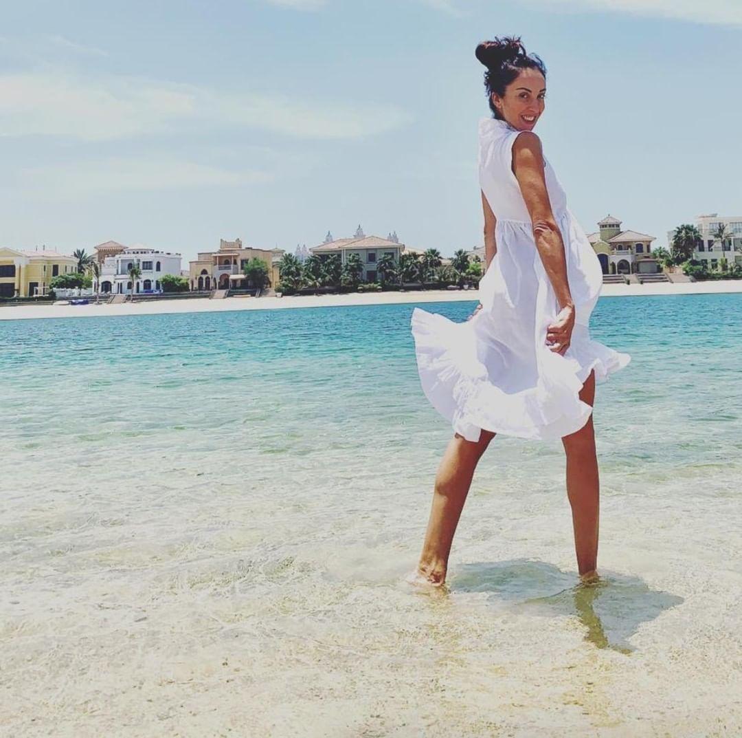 Summer Dress Linen Dresses White Linen Dresses Classic Chic [ 1073 x 1080 Pixel ]