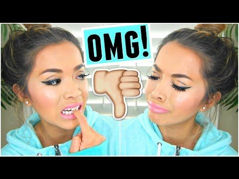 PRODUCTS I HATE Makeup Tutorial Challenge! - YouTube