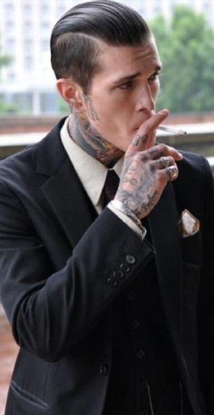 Tattooed Men In Suits Tumblr Jimmy Q