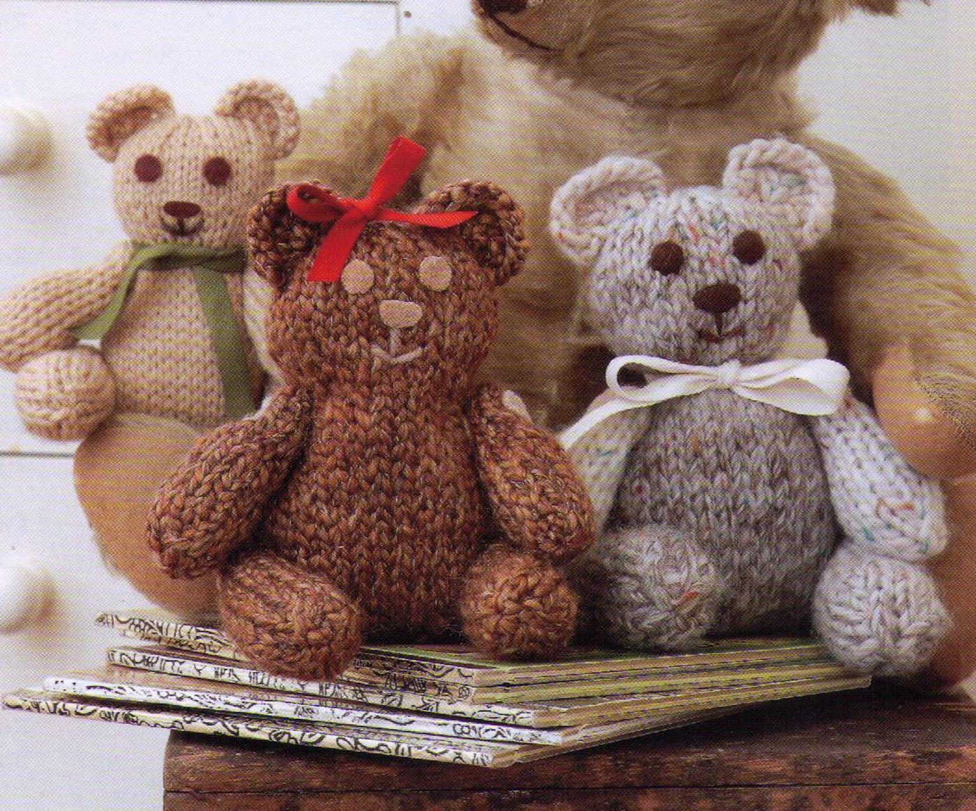 PDF Small Teddy Bear Pattern Knitting Knit Crochet Toy  #knit #knitpattern #knitteddybear #knitted #knitting #knittingpattern #pattern #teddybear #teddybearpattern #toypattern:separator: #crochetteddybears