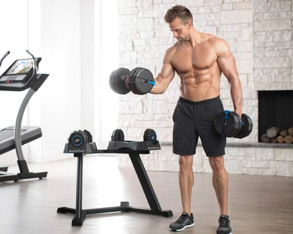 Comes with iFit for Strength Training! Best NordicTrack Select-A-Weight 55 Lb. Dumbbell Set Strength Training and much more!