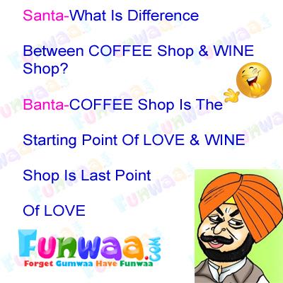 Pin by Funwaa India on santa banta jokes Very funny