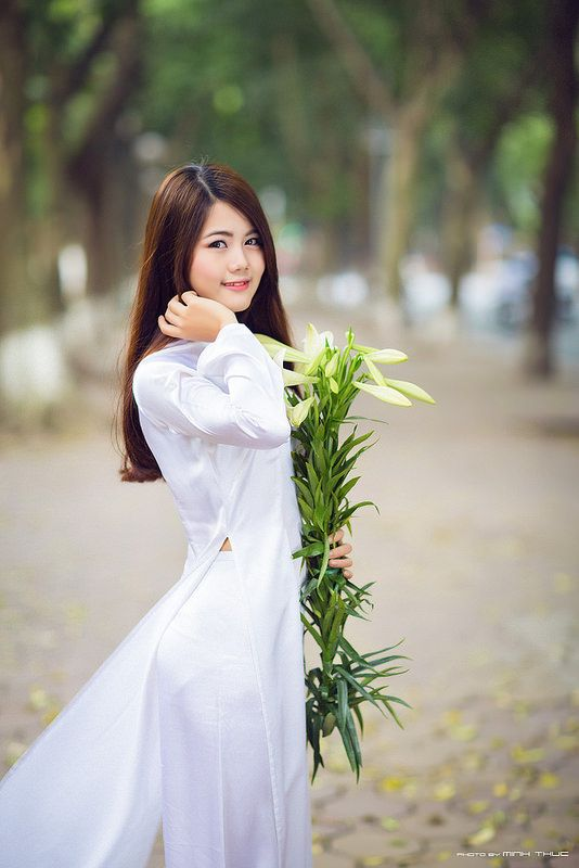 10 best Ao dai images on Pinterest   Vietnamese dress