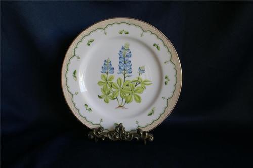 Vintage Georges Briard Victorian Gardens Texas Bluebonnet Dinner Plate | eBay | 10 + 8  | Item number:141075203069