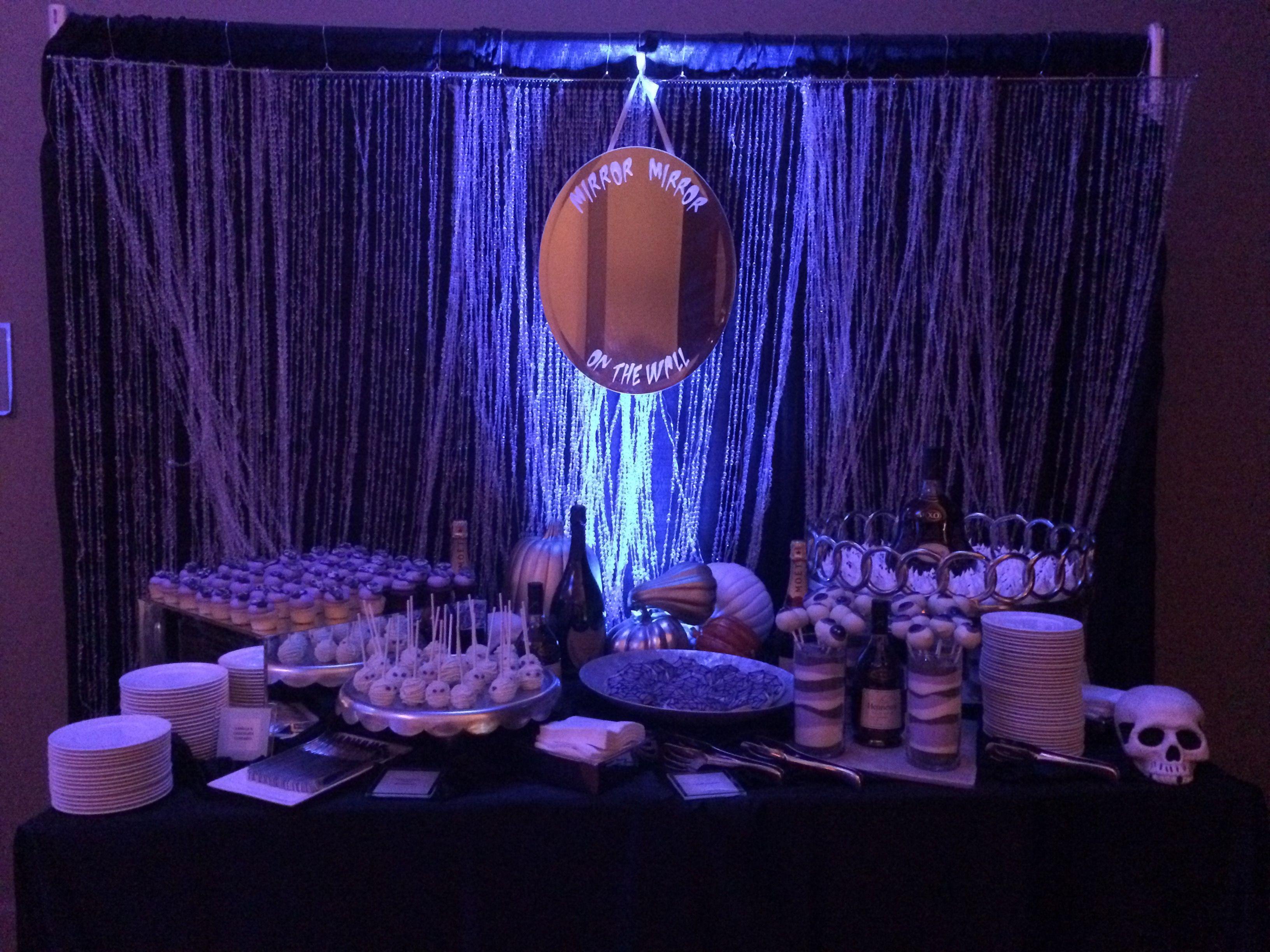 Broncos Football; TJ Ward's Halloween Party decor by Jennifer Lane ...
