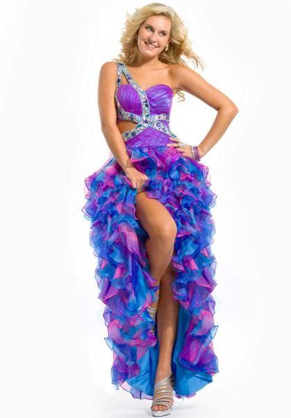 Colorful Prom Dresses Photo Album - Reikian