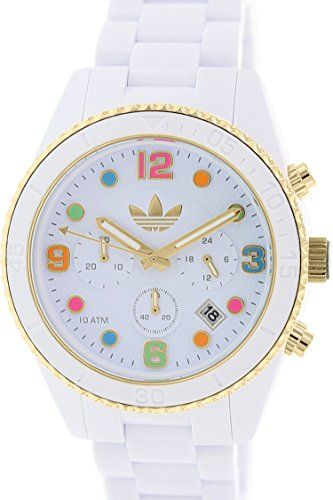 7d31f22815fad Adidas adh2945 44mm White Plastic Band   Case Mineral Women s Watch adidas  Performance. RelojCollaresRelojes De MujerRelojes ...