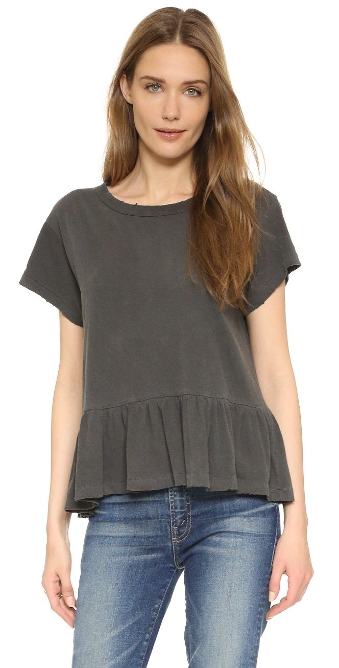 THE GREAT. The Ruffle Tee | SHOPBOP