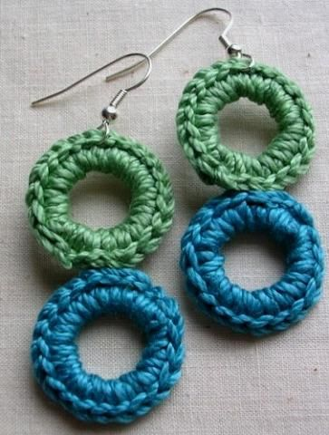 beautifulcraftideas beautiful crochet earring designs and ideas life chilli