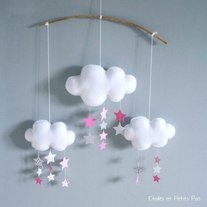 petite s rie de mobiles gouttes de pluie et pluie d. Black Bedroom Furniture Sets. Home Design Ideas